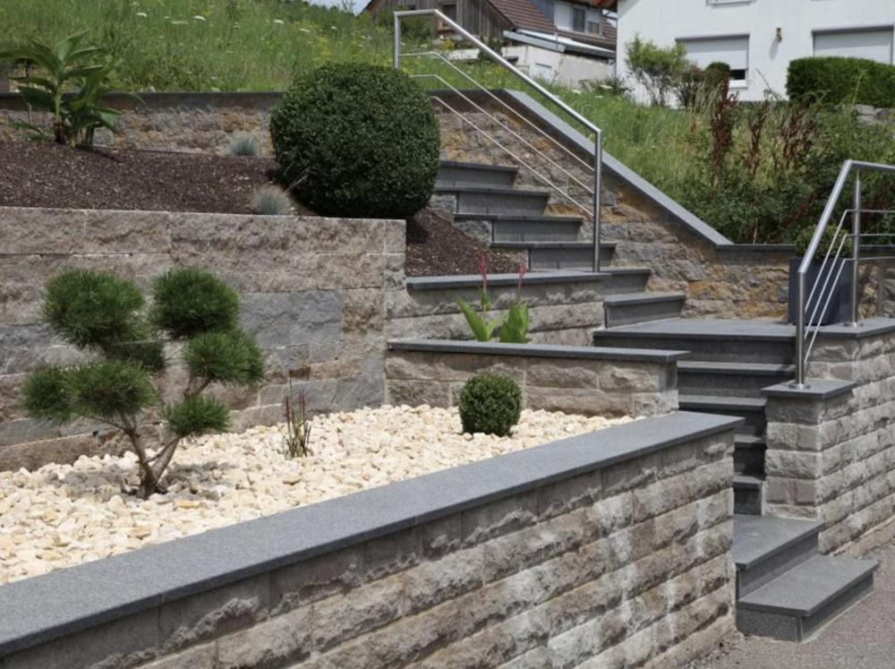 Fleck Natursteine - Treppen 2